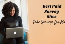 surveys for money sites