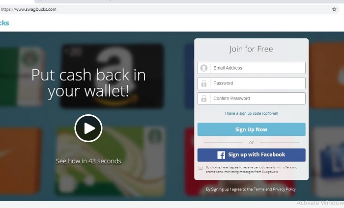 swagbucks signup