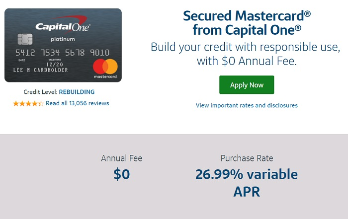capital one student credit card