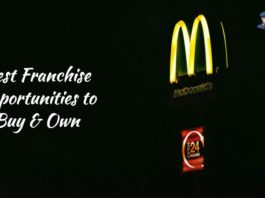 best franchise opportunities