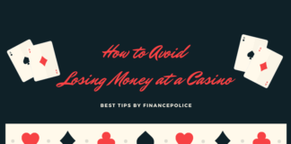 how to save money at a casino