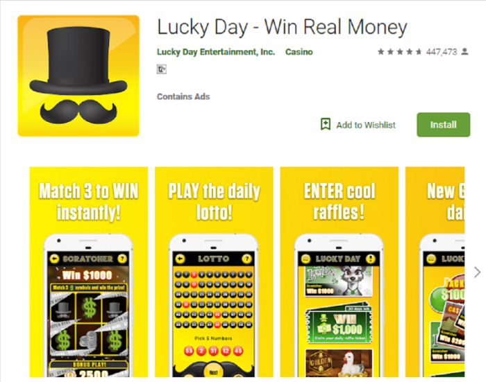 play lucky day