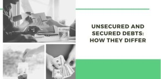unsecured and secured debts
